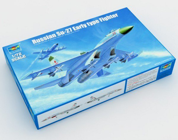 Russian Su-27 Early type