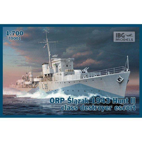 ORP Ślązak 1943 Hunt II class destr.