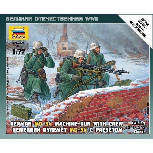 German Macine Gun w/Crew