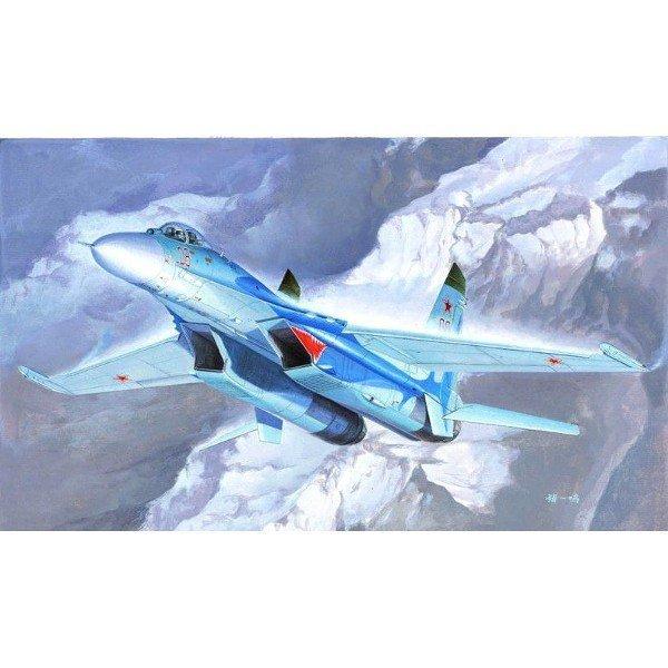 Model plastikowy SU-27 Flanker B