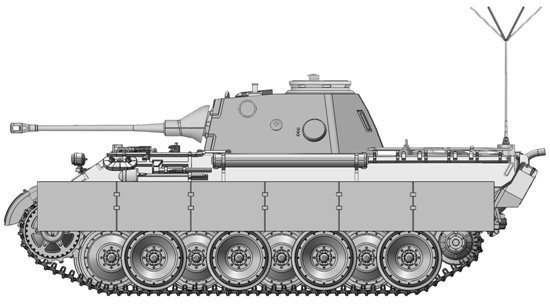 Pz.Beob.Wg.V Panther mit 5cm
