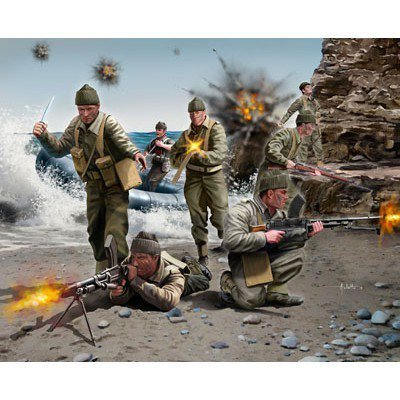 British Commandos WWII