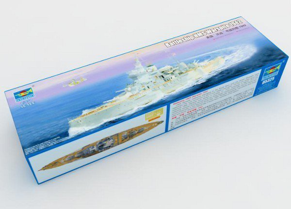 TRUMPETER Battleship HMS Warspite 1942