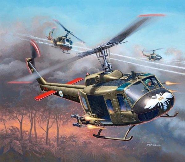 REVELL Bell UH-1H Gunshi p