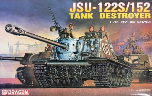DRAGON JSU-122S / 152 Ta nk Destroyer