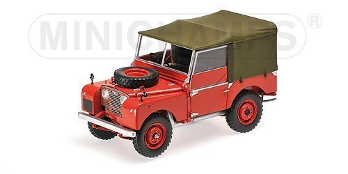 Land Rover 1948 (red)