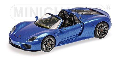 Porsche 918 Spyder Final 2013 (blue metallic)