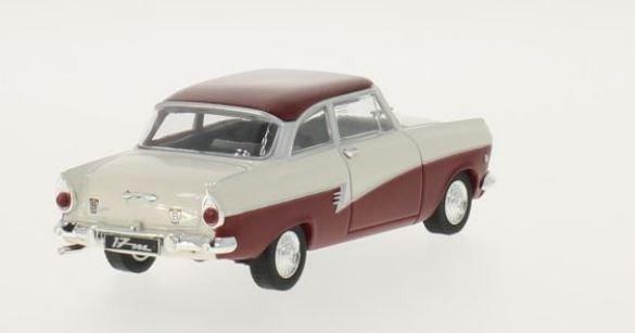 Ford Taunus 17m (P2) 1957 (white/dark red)