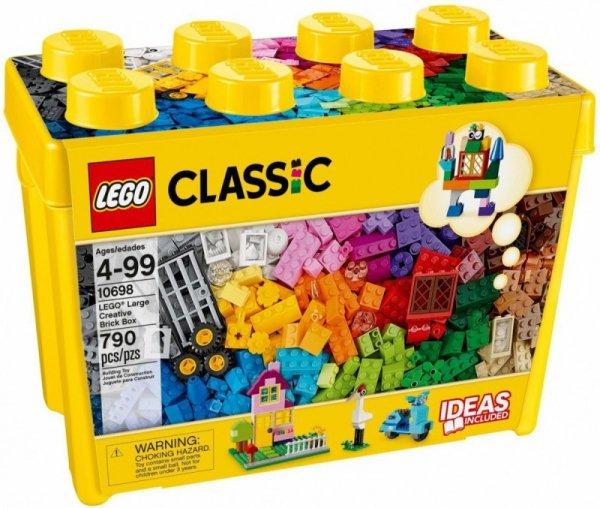 Klocki Classic 10698 Kreatywne klocki duże pudełko