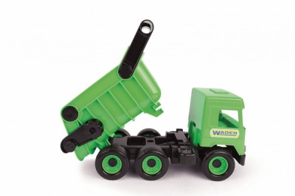Wywrotka zielona Middle Truck w kartonie