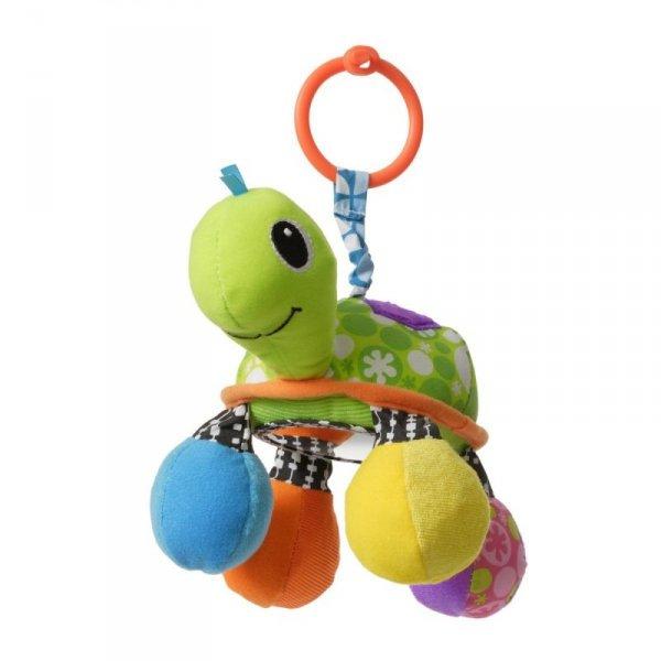 Zawieszka Infantino - Żółw z lusterkiem, zielony