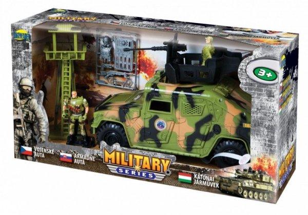 Zestaw wojskowy z pojazdem Military