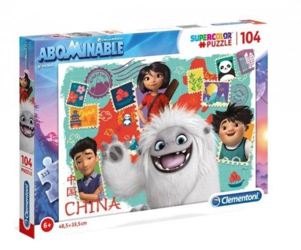 Puzzle 104 elementy Super Kolor Abominable