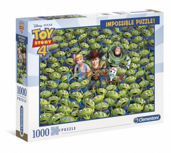 Puzzle 1000 elementów  Impossible Puzzle! Toy Story 4