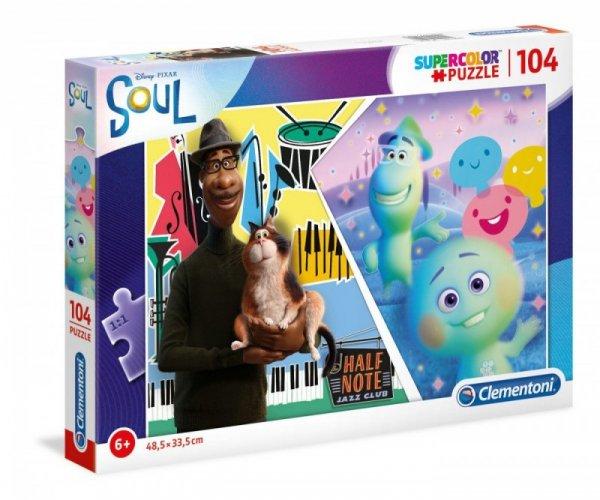Puzzle 104 elementy Super Kolor Soul