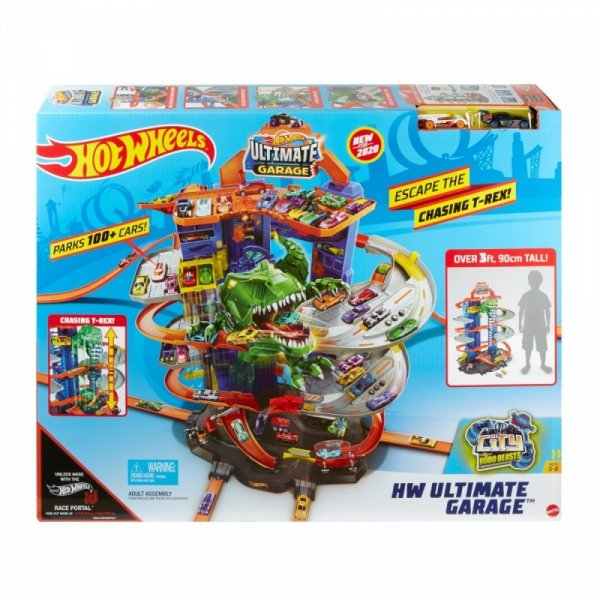 hot wheels mega garaż