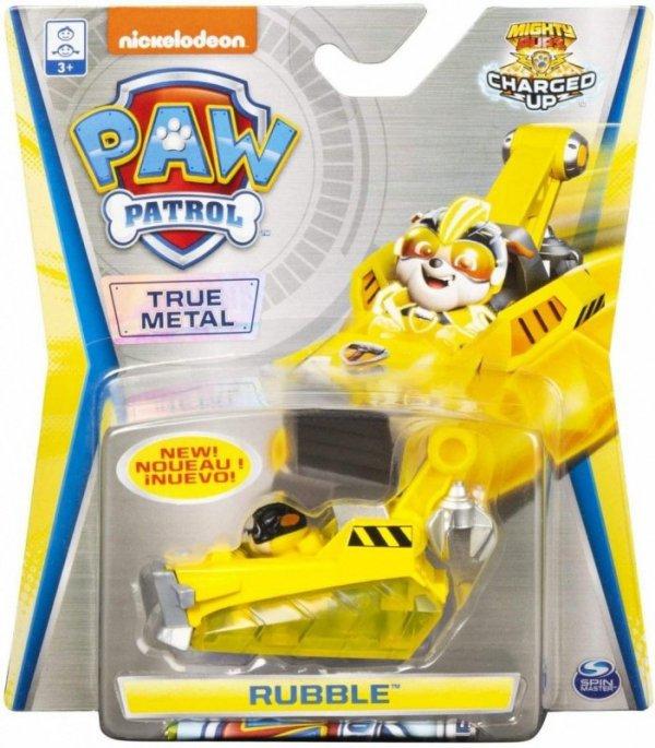 Psi Patrol Pojazd Super Charge Rubble