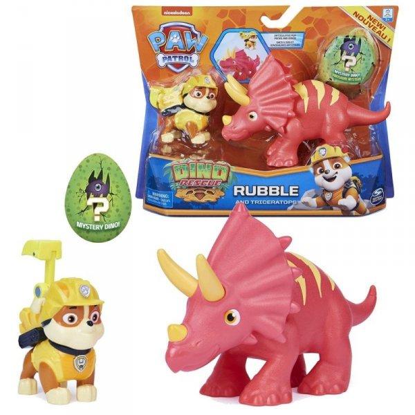 Figurki Akcji Dino Rescue Rubble Psi Patrol