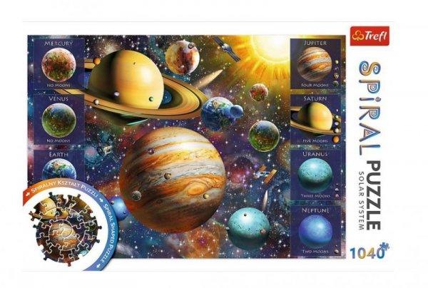 Puzzle Spiral Układ Słoneczny