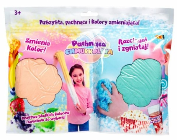 Masa plastyczna Chmurkolina pachnąca 2pak mix /display