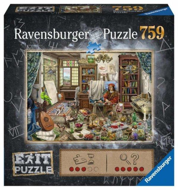 Puzzle Exit 759 elementów Studio artysty