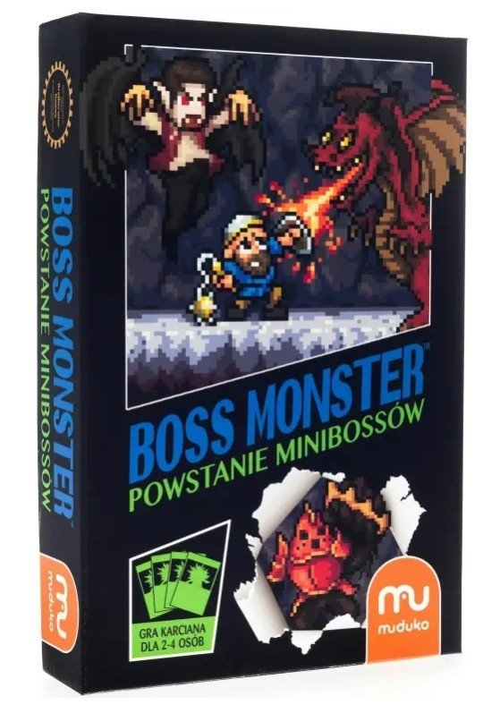 Dodatek do gry Boss Monster Powstanie Minibossów