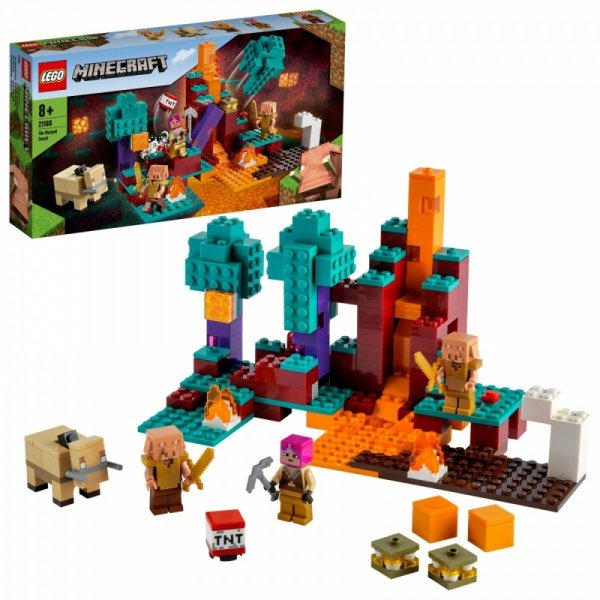Klocki Minecraft 21168 Spaczony las
