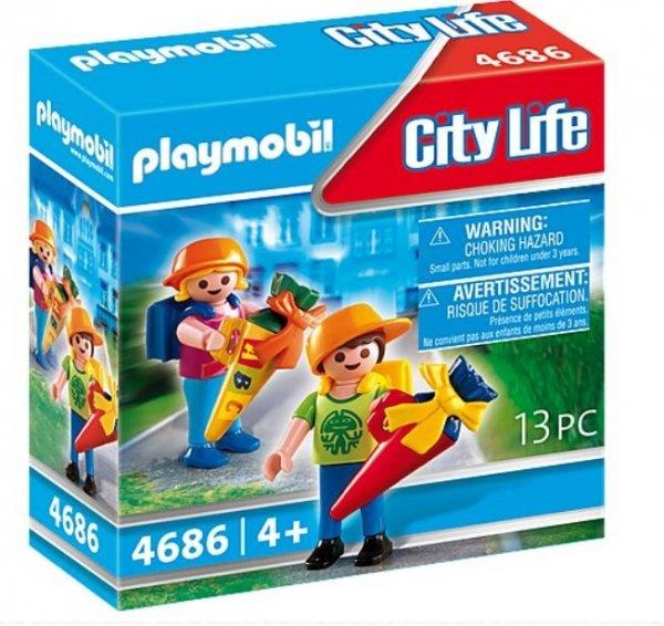 Figurki City Life 4686 Pierwszy dzień w szkole