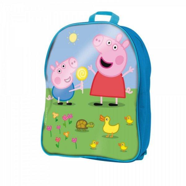 Klocki w plecaku Świnka Peppa
