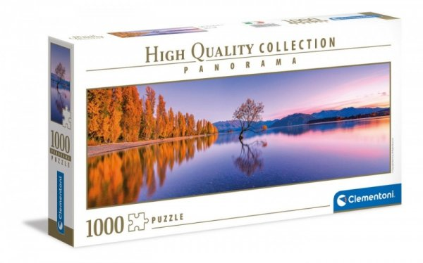 Puzzle 1000 elementów Panorama Lake Wanaka Tree