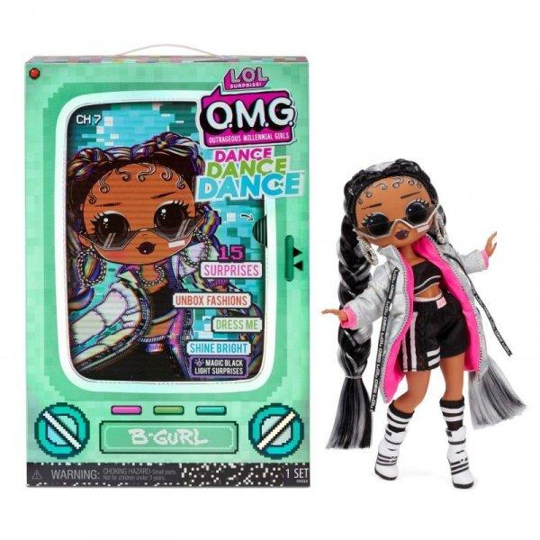 Laleczka L.O.L. Surprise OMG Dance Doll, B-Gurl
