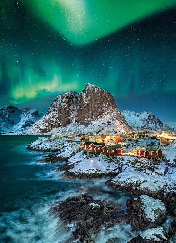 Puzzle 1000 elementów Lofoten Islands