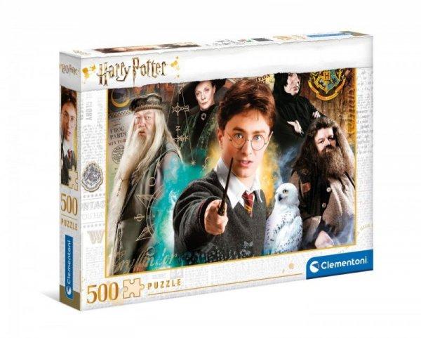 Puzzle 500 elementów Harry Potter 2