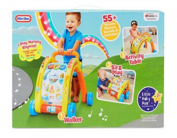 Baby Bum Interaktywny Chodzik 3w1