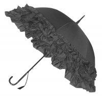 Trzy falbany szary parasol Boutique Frill