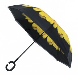 Inside Out Sunflower parasol odwrotny słonecznik