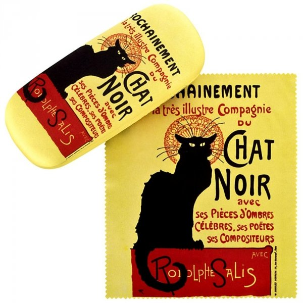 Chat Noir - etui na okulary Von Lilienfeld