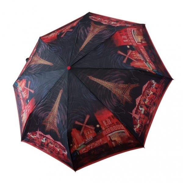 Moulin Rouge - parasolka damska składana full-auto Zest 23846