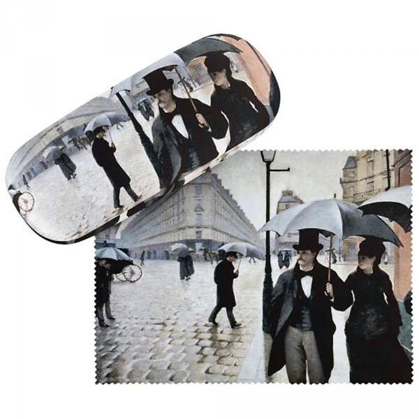 Paryż w deszczu G.Caillebotte - etui na okulary Von Lilienfeld