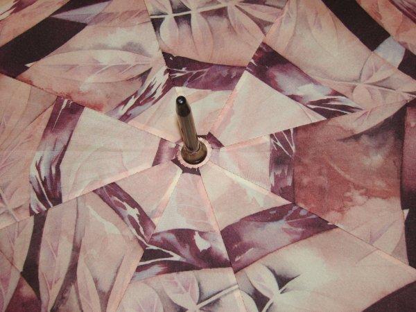 Ślady jesieni - długi parasol automatyczny Airton