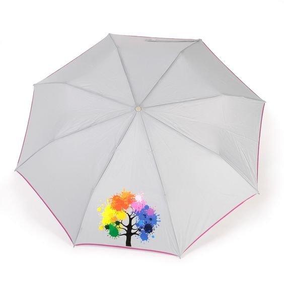 Kolorowe drzewo szara parasolka automatyczna NeX