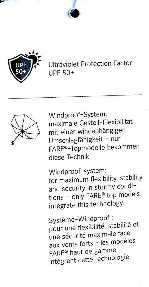 Natura - parasolka na deszcz i słońce z filtrem UV UPF50+