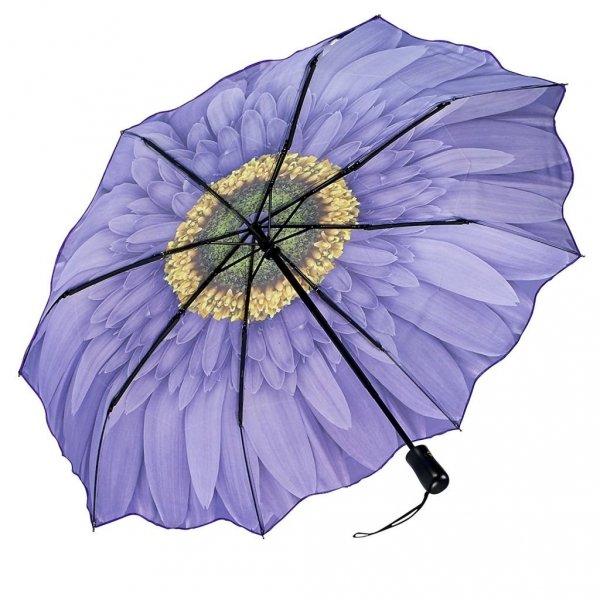 Violet Daisy - parasolka składana Galleria
