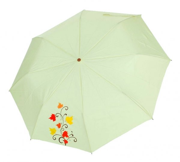 Pastelowa zieleń - parasolka składana półautomat Airton 3631