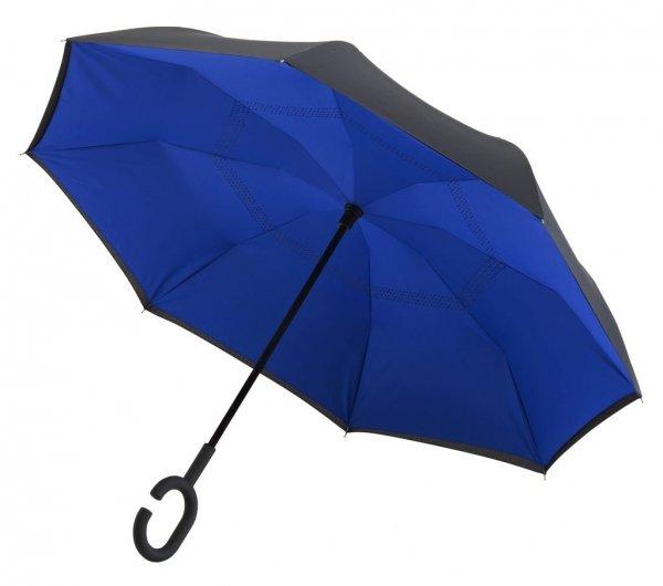 SuperBrella granatowy parasol odwrotny Impliva