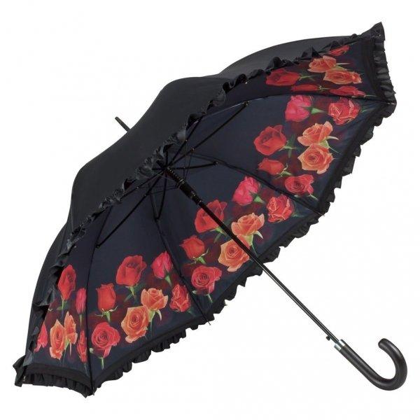 Różany bukiet - ekskluzywny parasol Von Lilienfeld