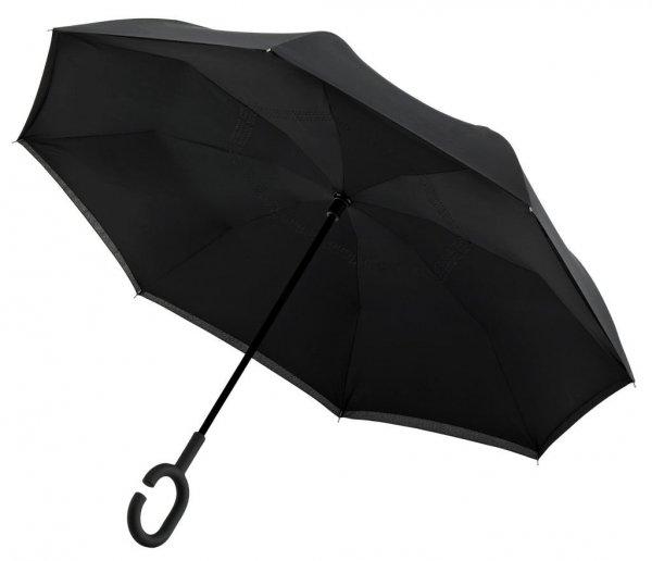 SuperBrella - parasol odwrotny czarny