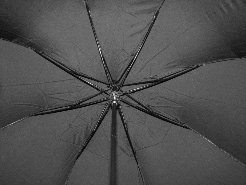 Bruno - parasol czarny półautomat dwusekcyjny MA253