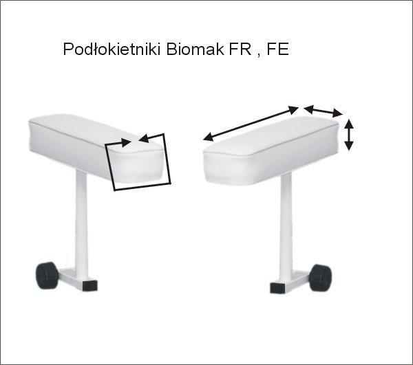 POKROWCE NA PODŁOKIETNIKI BIOMAK FR, FE