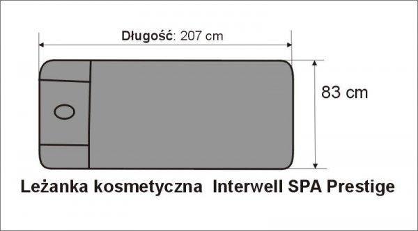 Pokrowce na leżankę  Interweel SPA Prestige